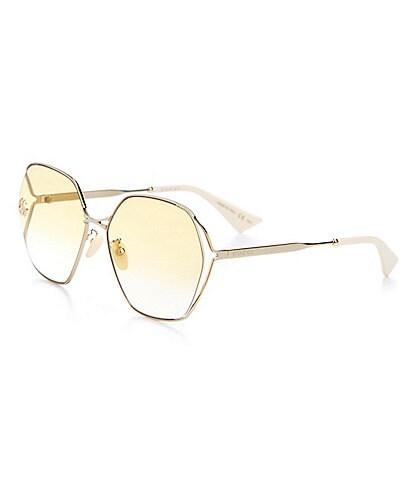 Gucci Women's Butterfly 63mm Sunglasses