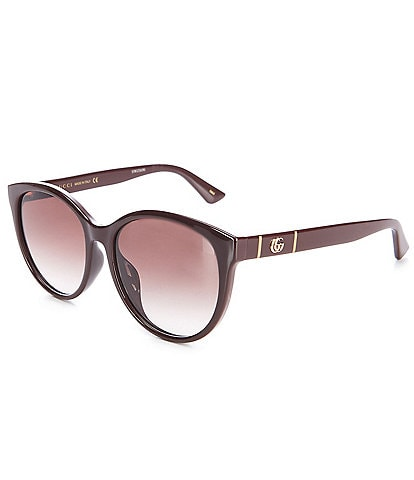 Gucci Women's Cat Eye 56mm Sunglasses