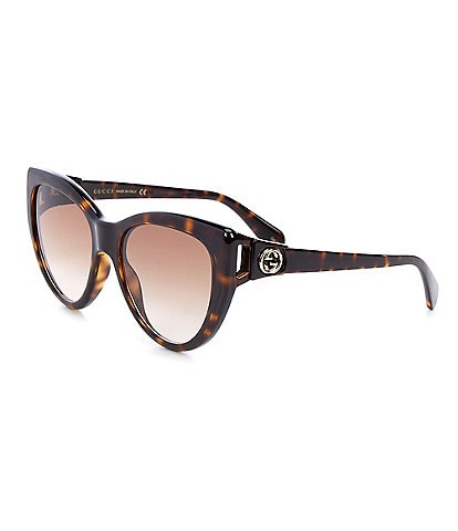 Gucci Women's Gg0877s Cat Eye 56mm Sunglasses