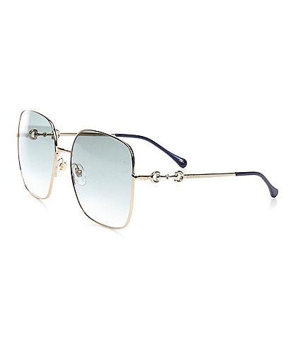Gucci Women's Gg0879s Square 61mm Sunglasses