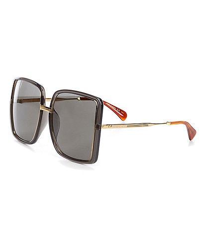 Gucci Women's Gg0903sa Rectangular 60mm Sunglasses