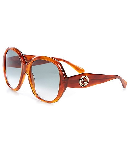 Gucci Women's Oval 56mm Sunglasses
