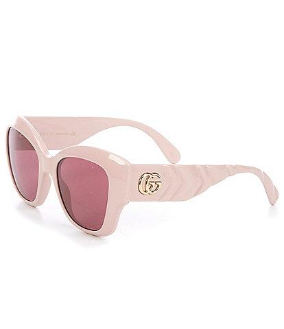 Gucci Women's Over Sized Cat Eye 53mm Sunglasses