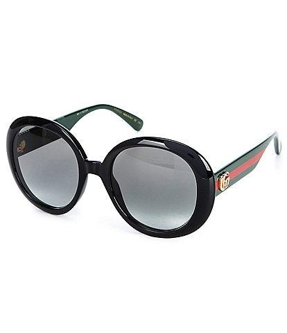 Gucci Women's Round 55mm Sunglasses