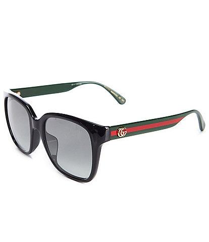 Gucci Women's Square 53mm Sunglasses