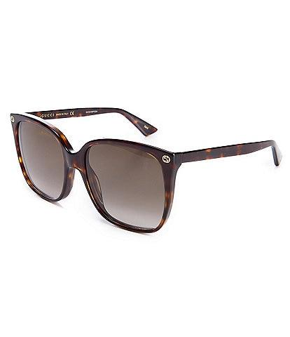 Gucci Women's Square 57mm Sunglasses