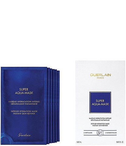 Guerlain Super Aqua Hydrating 6 Piece Sheet Mask Set