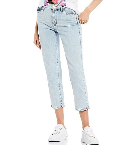 Guess 1981 Cropped Straight Jeans