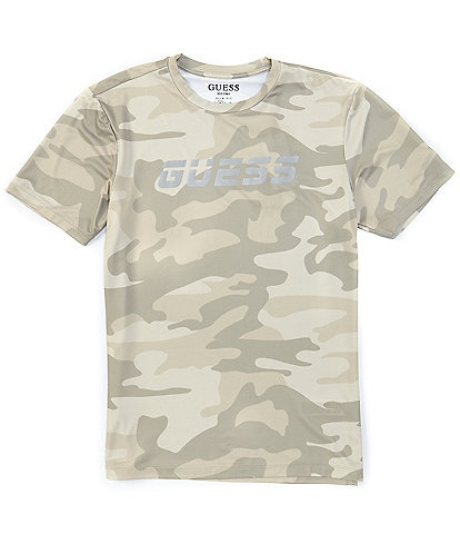 Guess Active Tie-Dye Short-Sleeve Training Tee