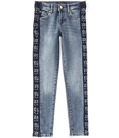 Guess Big Girls 7-16 Floral Skinny Jeans