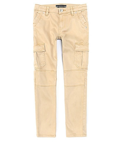 Guess Big Girls 7-16 Stretch Sateen Skinny-Fit Cargo Pants