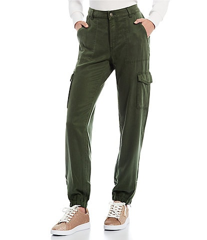 Guess Bowie High Rise Cargo Chino Pants