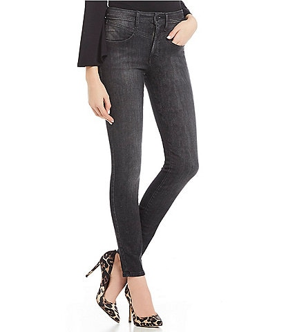 Guess Chevron 1981 High Rise Skinny Jeans