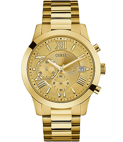 Guess Classic Chronograph & Date Bracelet Watch