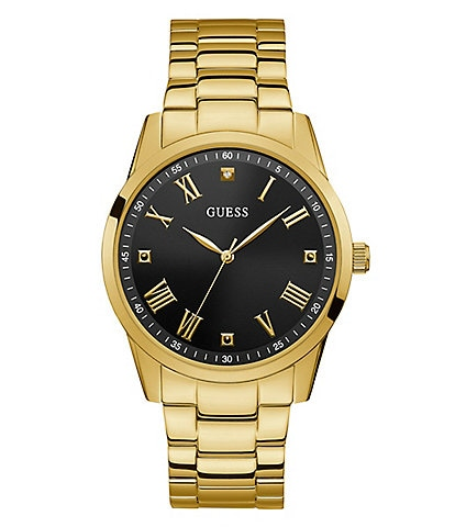 Guess Classic Dress Gold Watch