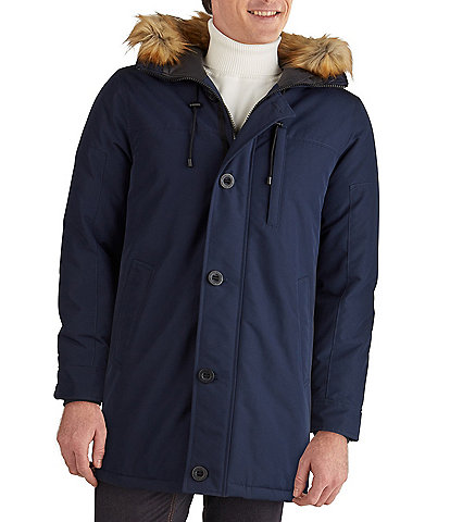 Guess Faux-Fur-Trimmed Hooded Heavyweight Parka