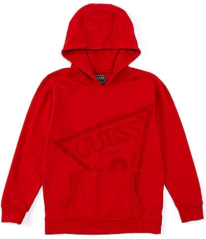 Guess Guess Active Big Boys 8-18 Embroidered-Logo Hoodie