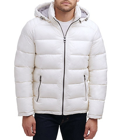 Guess Heavyweight Puffer Jacket With Detachable Hood