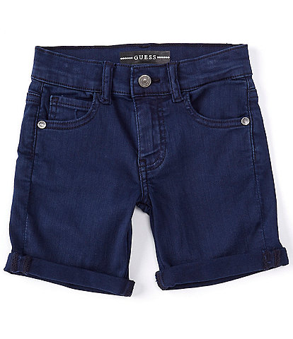 Guess Little Boys 2T-7 Bull Stretch-Denim Shorts