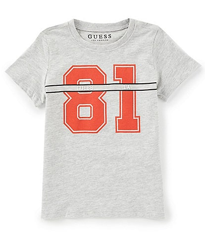 Guess Little Boys 2T-7 Short-Sleeve Varsity 81 Graphic Tee