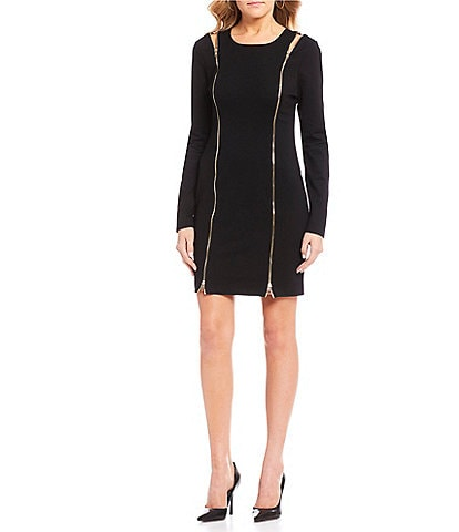 Guess Long Sleeve Wess Dress
