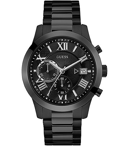 Guess Men's Black Classic Style Watch