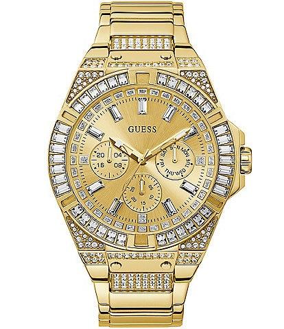 Guess Men's Gold-Tone Multifunction Watch
