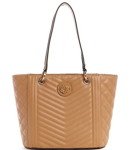 Guess Noelle Lida Quilted Tote Bag