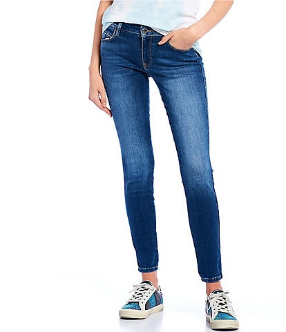 Guess Sexy Curve Mid Rise Skinny Jeans