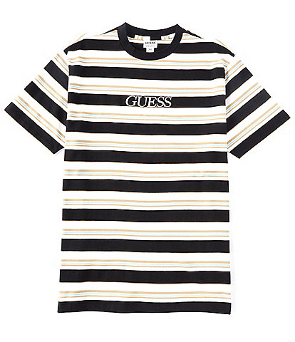 Guess Short-Sleeve Guess Rogers Striped Tee