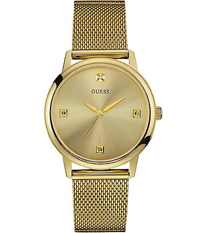 Guess Slim Mesh Bracelet Watch