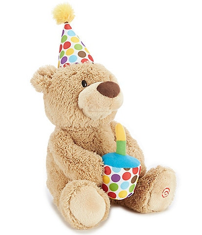 Gund 17#double; Animated Plush Happy Birthday Bear