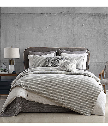 H Halston Clayton Stripe Comforter Mini Set