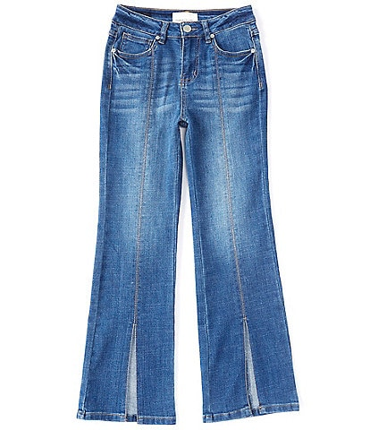 Habitual Big Girls 7-16 Amira Slit-Flare-Leg Jeans
