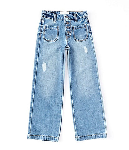 Habitual Big Girls 7-16 Denim Wide-Leg Jeans