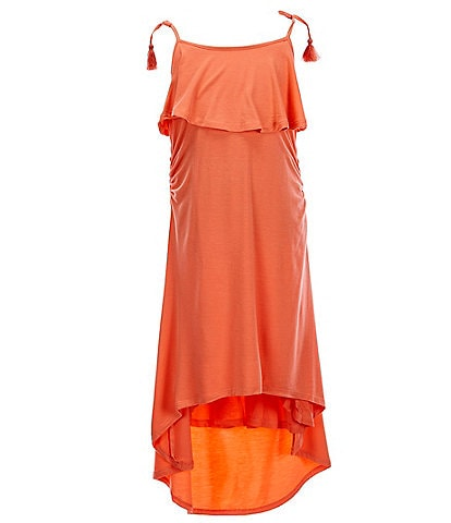 Habitual Big Girls 7-16 Hi-Low Dress Swimsuit Cover-Up