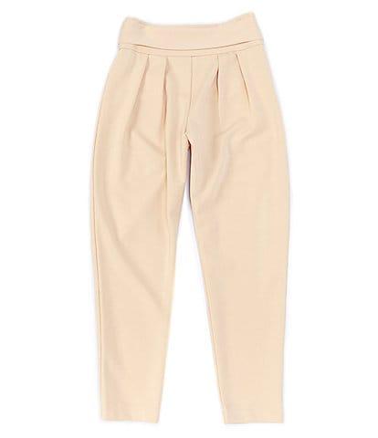 Habitual Big Girls 7-16 High-Waist Solid Knit Pull-On Pants