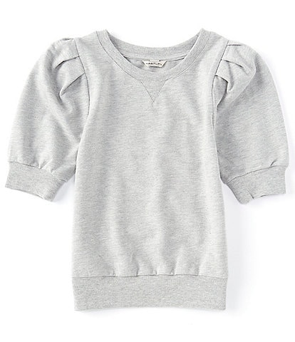 Habitual Big Girls 7-16 Puffed-Sleeve Sweatshirt