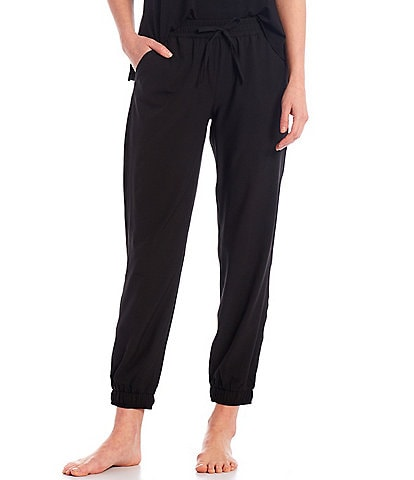 Half Moon by Modern Movement Solid Woven Lounge Jogger Pants