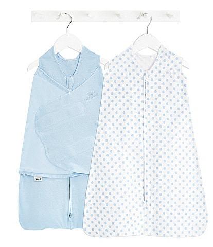 Halo Baby 3-12 Months SleepSack Swaddle Wearable Blanket 2-Piece Gift Set