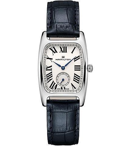 Hamilton American Classic Boulton Small Leather Strap Watch