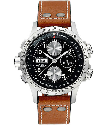Hamilton Khaki Automatic X-Wind Chronograph Watch