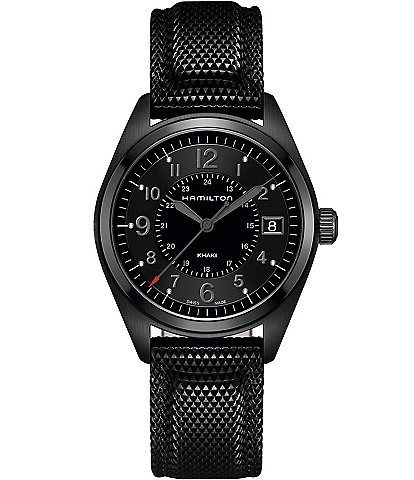 Hamilton Khaki Field Quartz Full Black Watch