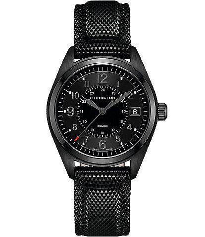 Hamilton Khaki Field Quartz Full Black Watch