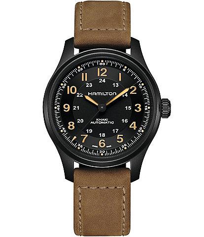 Hamilton Khaki Field Titanium Auto Watch