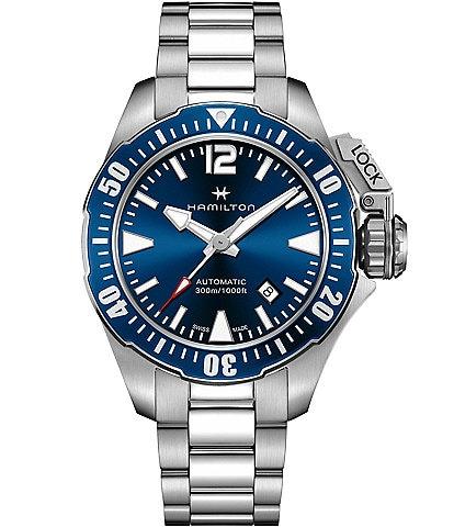 Hamilton Khaki Navy Frogman Automatic Bracelet Watch