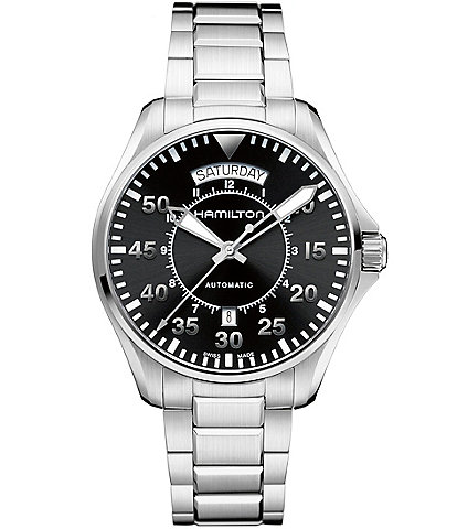 Hamilton Khaki Pilot Mechanical Automatic Watch