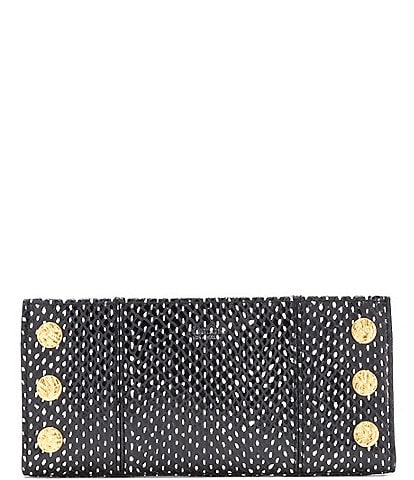 Hammitt 110 North Studded Snake Print Wallet