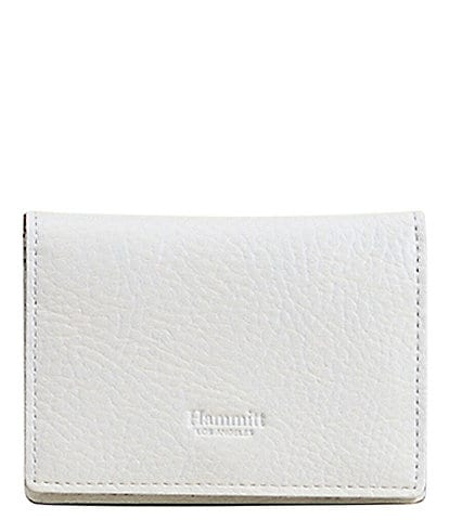 Hammitt 126 Pebble Leather West Card Wallet