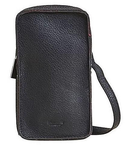 Hammitt 424 North South Leather Zip Phone Convertible Crossbody Bag